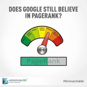 Does Google Still Believe in Pagerank
