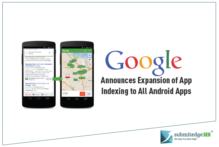 Google Announces Expansion of App Indexing to All Android Apps