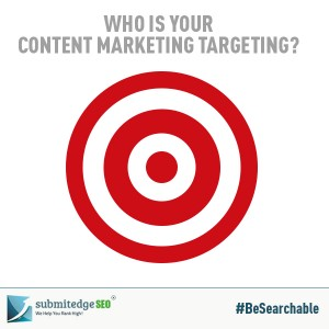 Who is your Content Marketing targeting