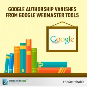 Google Authorship Vanishes From Google Webmaster Tools