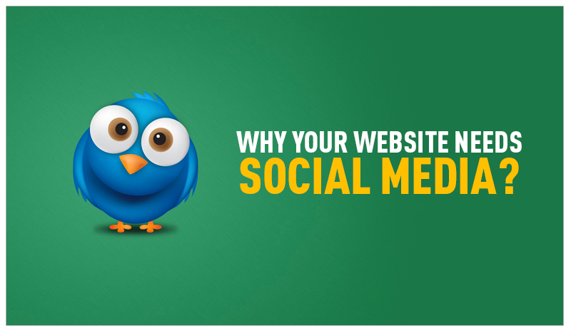 Why YOUR WEBSITE needs SOCIAL MEDIA