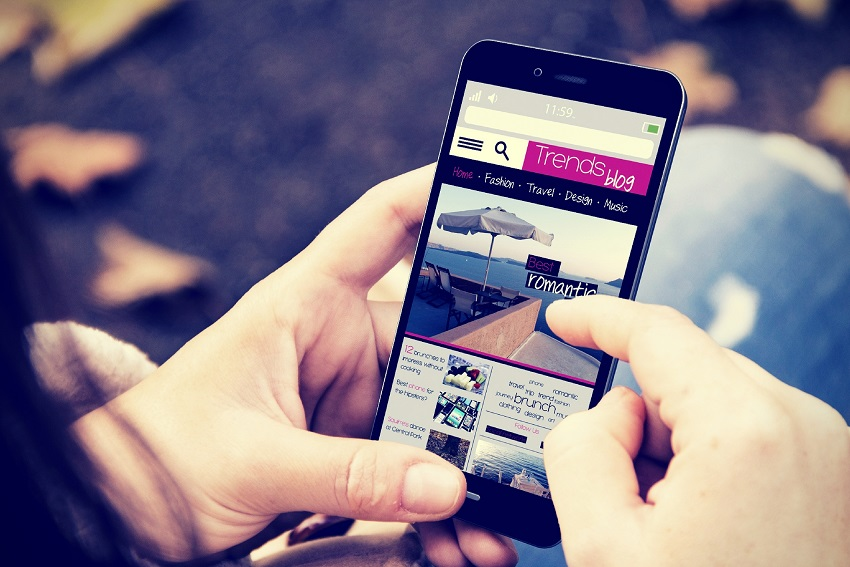 Smarthpone Mobile Website
