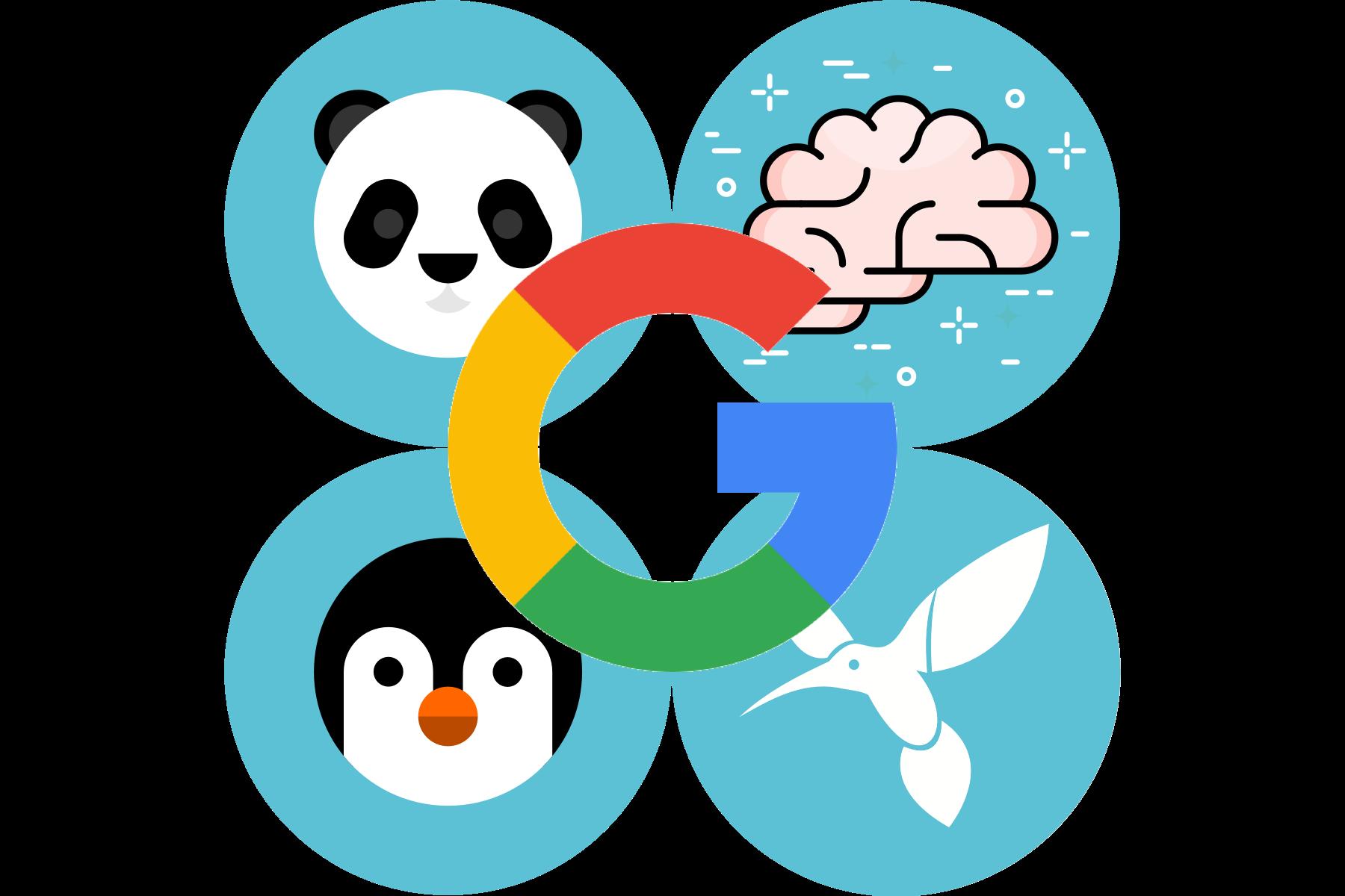 Google ranking algorithm updates explained