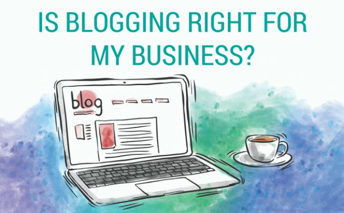 Blogging is right