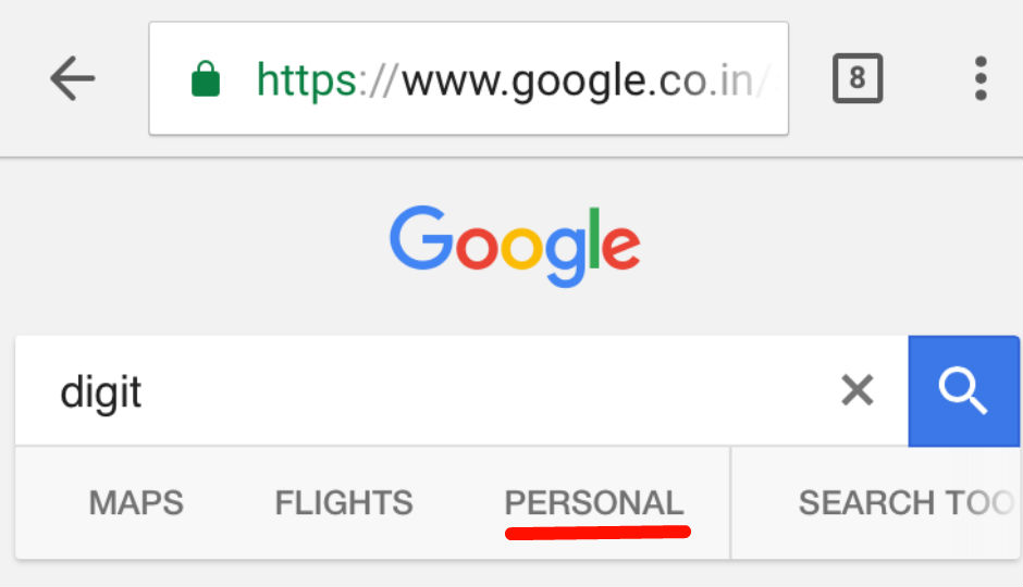 Personal Search Services